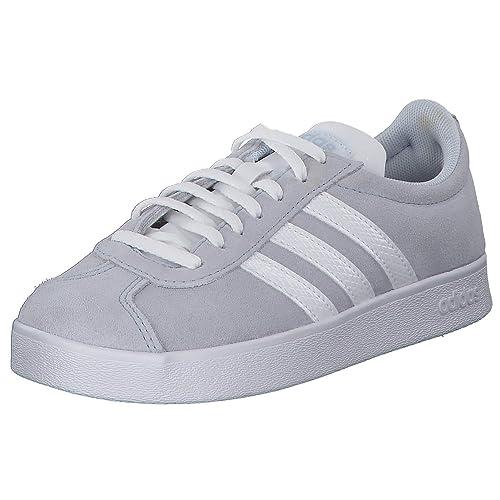 Adidas Damen Sportschuhe/Sneaker VL Court 2.0 grau - 38 (5)