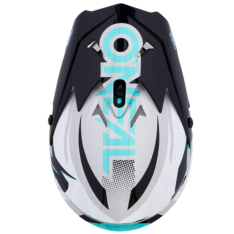 Farbe Blau Gr/ö/ße XS ONeal 3Series Riff Motocross Motorrad MX Helm Bike FMX Enduro Moto Cross Offroad Quad Trail 0623-R-Adult