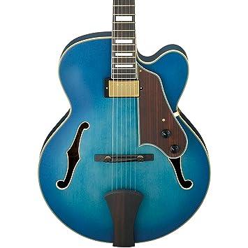 Ibanez afj91 Artcore estilo expresionista guitarra eléctrica cuerpo hueco (Jet azul Burst soporte de): Amazon.es: Instrumentos musicales
