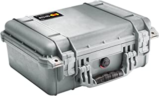 product image for Pelican 1450 Case With Foam (Silver)