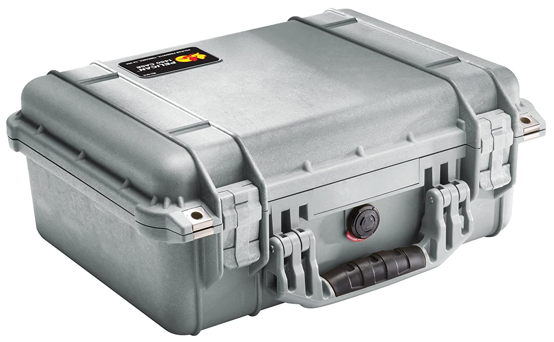 Pelican 1450 – Equipment Cases (Silber, 371.35 x 258.6 x 152.4 mm) B00009UT9B | Qualitätsprodukte
