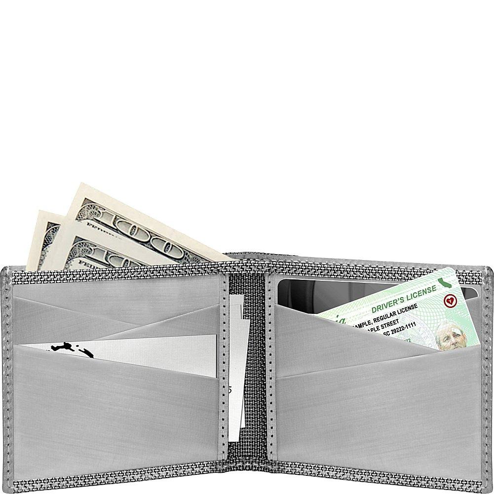 Large Diamond-Silver Stewart//Stand Texture Bill Fold