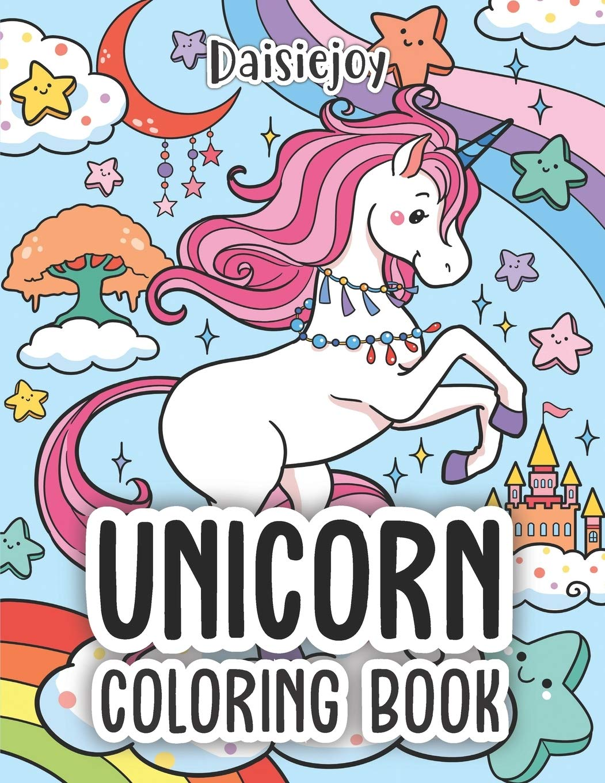Amazon Com Unicorn Coloring Book Magical Unicorn Coloring Books For Girls Us Version 9781795700962 Daisiejoy Books