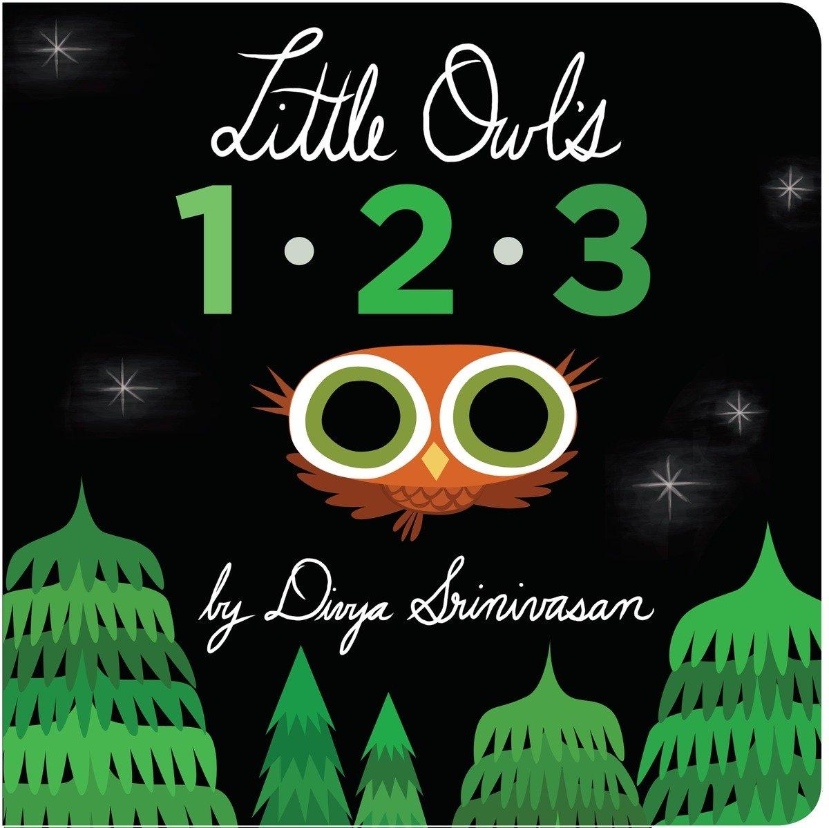 Amazon.com: Little Owl's 1-2-3 (9780451474544): Srinivasan, Divya, Srinivasan, Divya: Books