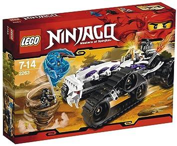 LEGO NINJAGO 2263 Destructor Turbo: Amazon.es: Juguetes y juegos