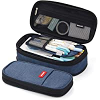 EASTHILL Big Capacity Pencil Pen Case Office College School Large Storage High Capacity Bag Pouch Holder Box Organizer Blue New Arrival …