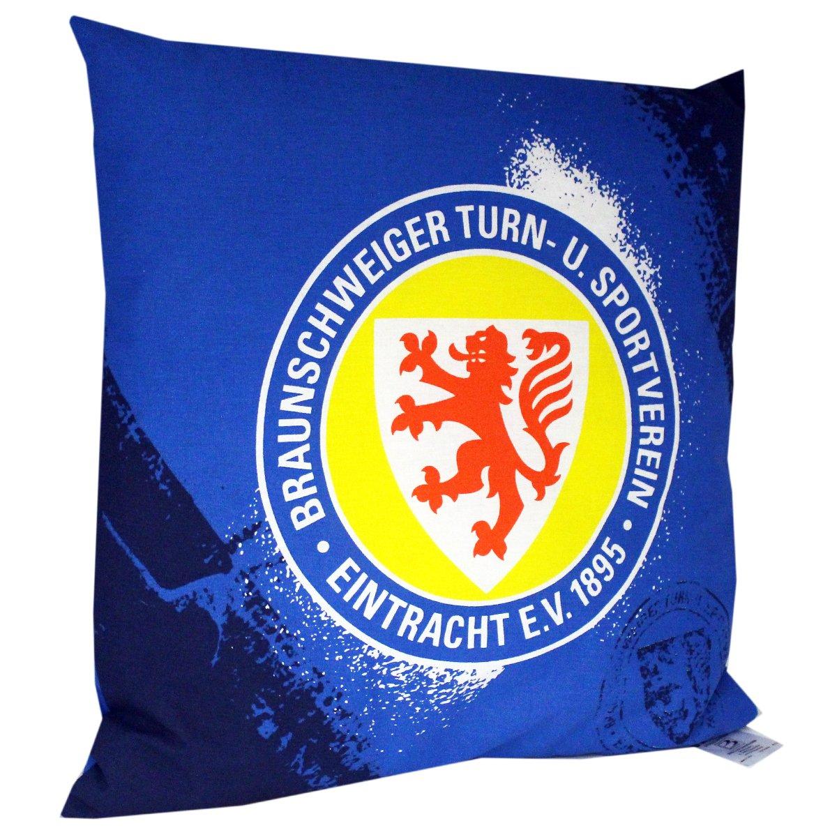 Eintracht Braunschweig Kissen Grunge ca. 38x38cm 100% Baumwolle