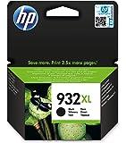 HP 932XL CN053AE Cartuccia Originale per Stampanti HP a Getto di Inchiostro, Compatibile con Stampanti HP OfficeJet 6100, 7610, 7612, 6600, 6700, 7110, 7510, Nero