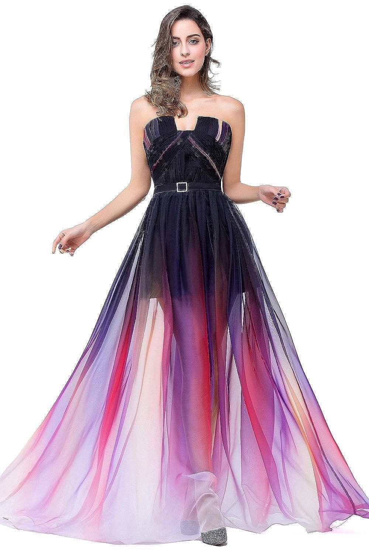 Babyonline® Damen Lang Abendkleider Brautjunfernkleider Partykleider ...