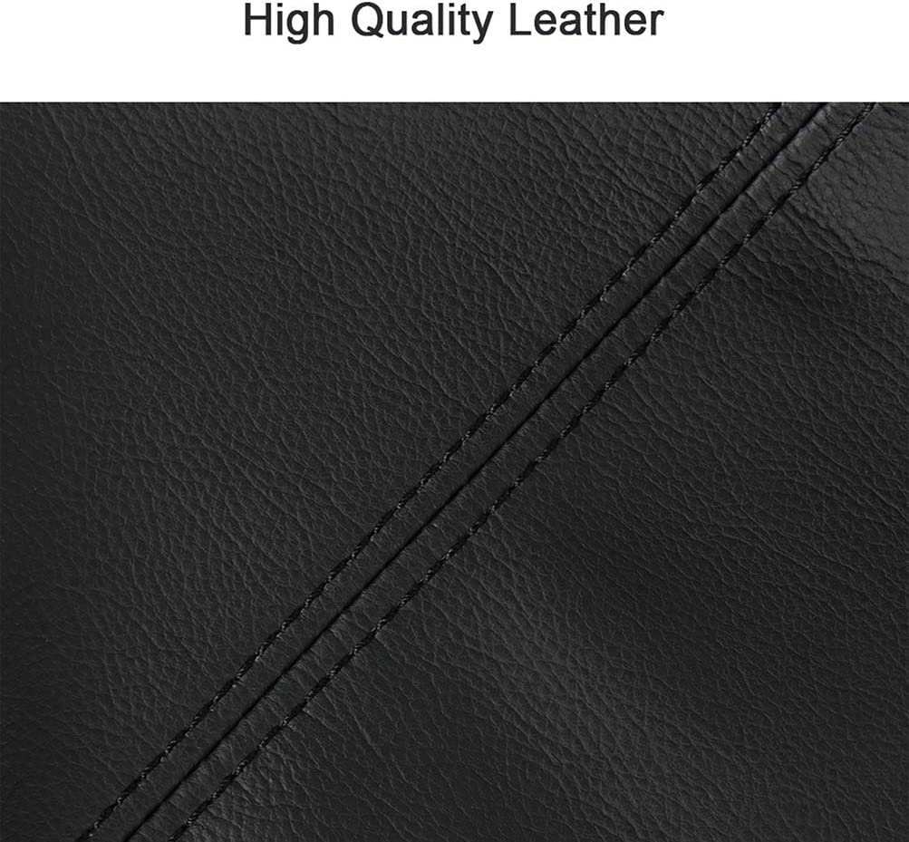SCITOO Auto Black Leather Armrest Center Console Lid Skin Cover Replacement fit for 2012-2017 for Toyota Camry