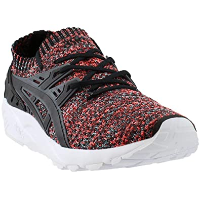 ASICS GEL KAYANO TRAINER Knit Athletic Training Stability Shoes Black Mens