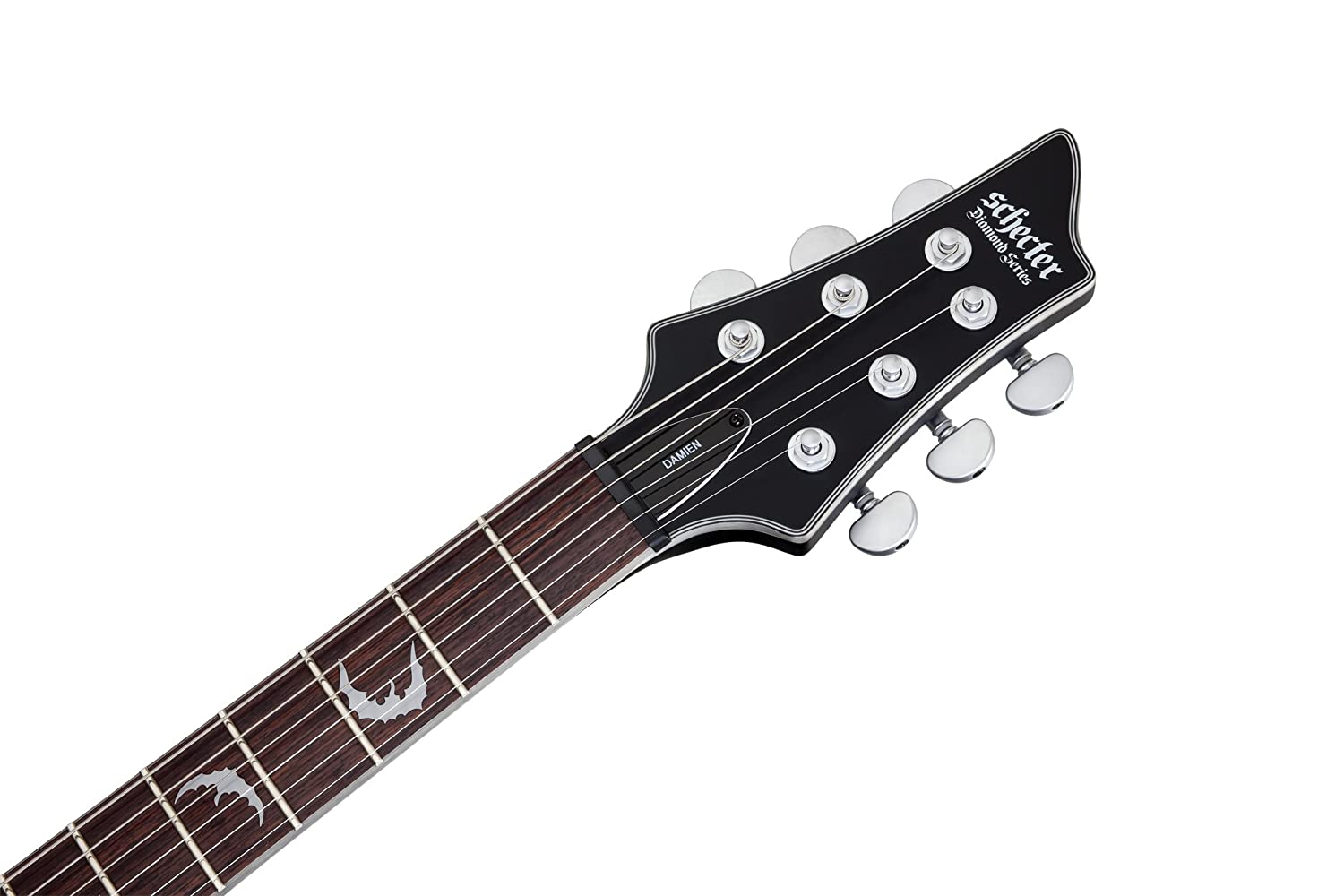 Amazon.com: Schecter Damien Platinum 6 Satin Black: Musical Instruments