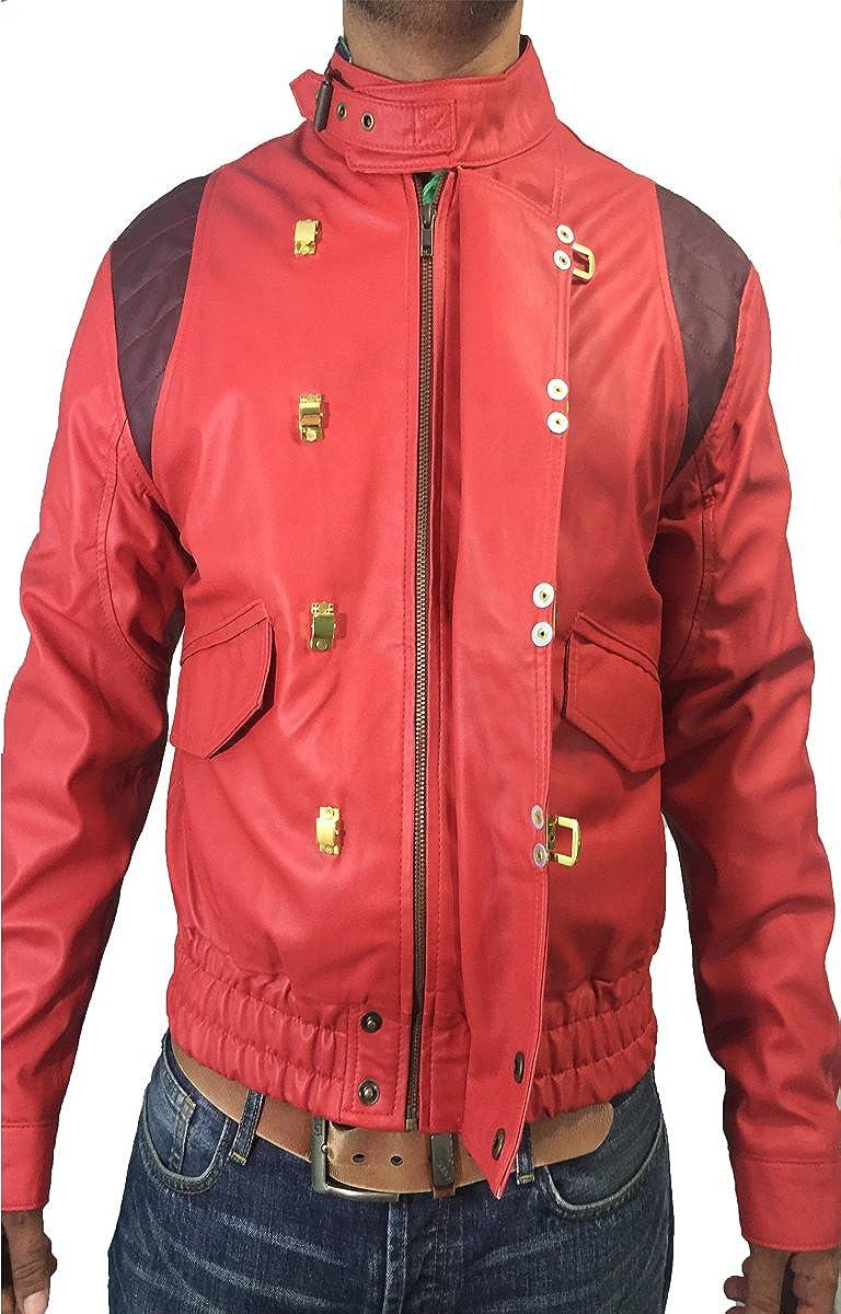 BNH Fashion Red Akira Kaneda Leather Jacket