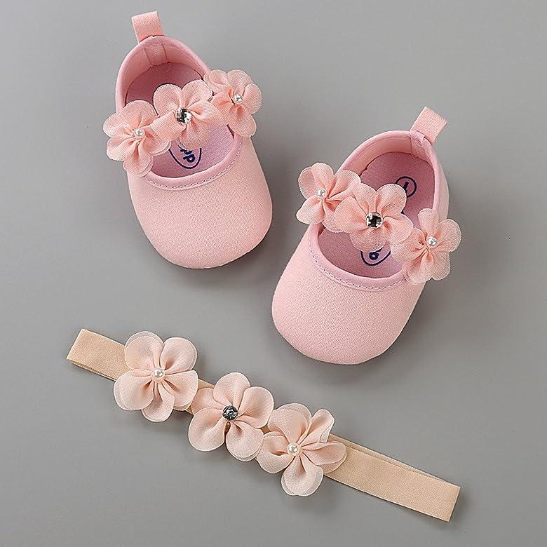 UK Toddler Baby Girls Princess Sandals Shoes Toddler Sneaker Anti-slip Soft Sole