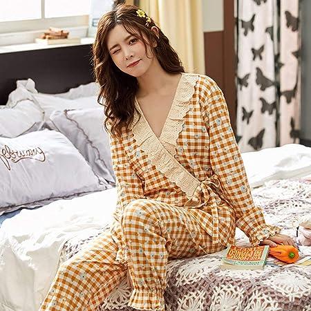 Pijama Felpa Traje Larga Holgado Suave Caliente Pijamas De ...