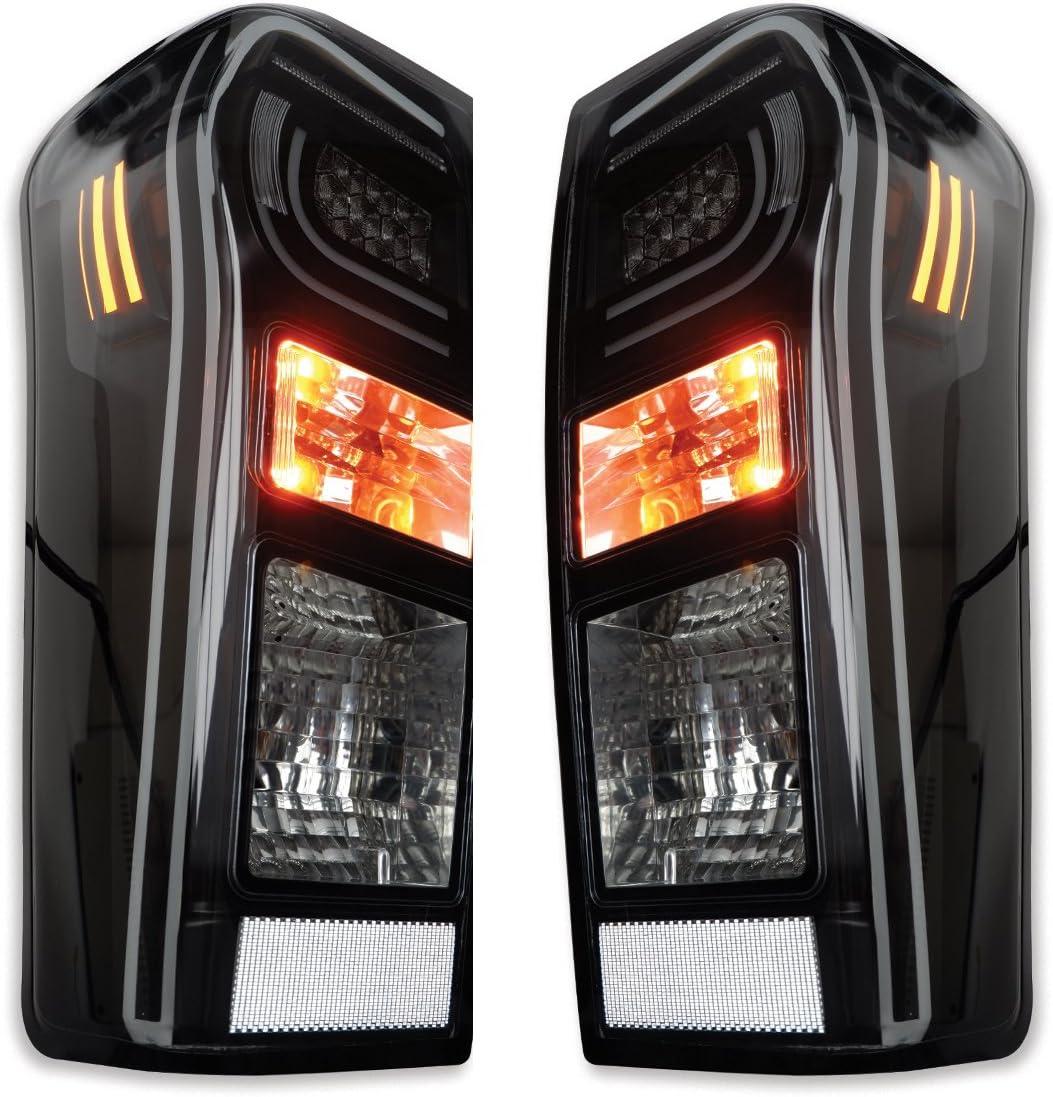 Pair Led Tail Lamp Light Replace Isuzu Rodeo D Max Dmax 4x4 2wd 2012 13 15 2016