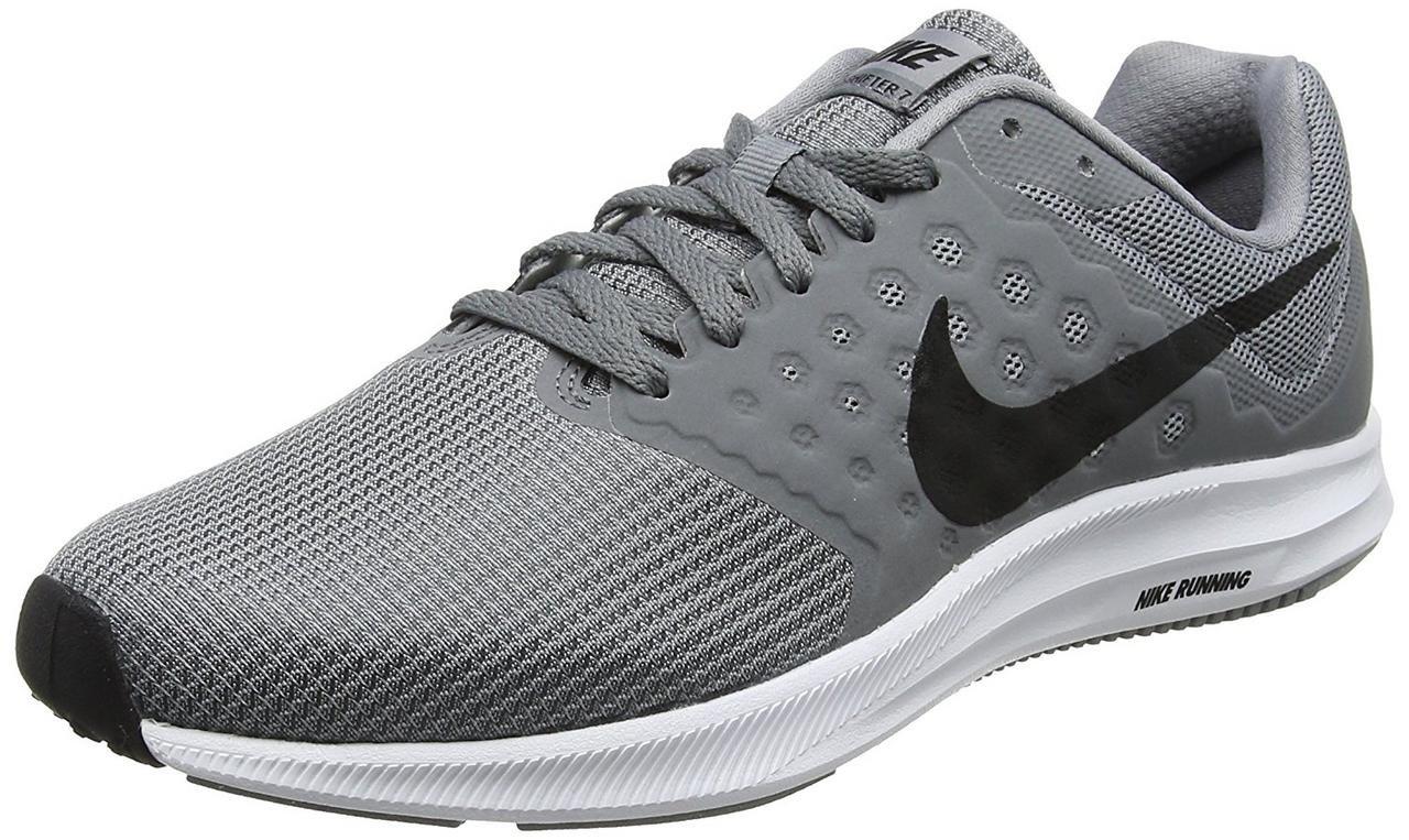 wholesale dealer b756c 22b8e NIKE Men s Downshifter 7 Running Shoe Stealth Black Cool Grey White Size 9