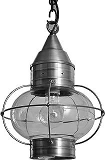 product image for Brass Traditions 622-GM Medium Hanging Onion Lantern, Gun Metal Finish Hanging Onion Lantern