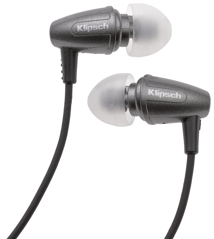 d6793e7500a Klipsch Image S3 In-Ear Headphones - Grey: Amazon.co.uk: Electronics