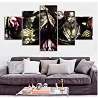 Anime Poster Wall Stickers for Home Decor HD Wallpaper One Piece Oil Painting on Canvas Wall Art Murals no framed…