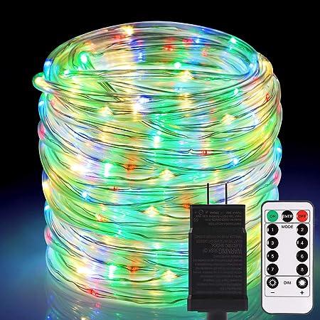 5-20M RGB LED Light Strip Waterproof Lamp Outdoor Garden Xmas Wedding Home Decor