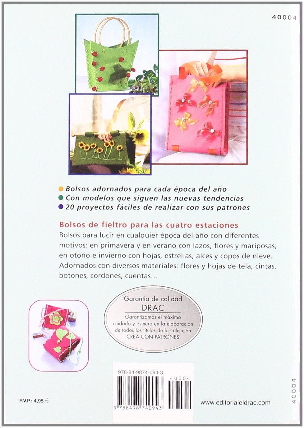 Bolsos de fieltro para epoca del ano: PETRA DECHENE: 9788498740943: Amazon.com: Books
