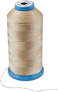 Aussel T70 - Hilo de Coser de Nylon , Beige: Amazon.es: Hogar