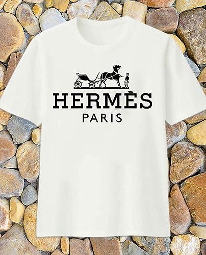 lowest discount dirt cheap best sell Amazon.com: Classic Logo Hermes Paris Shirt Hermes T-shirt Hermes ...