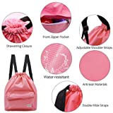 KIKIGOAL Dry Wet Separated Swimming Bag Portable