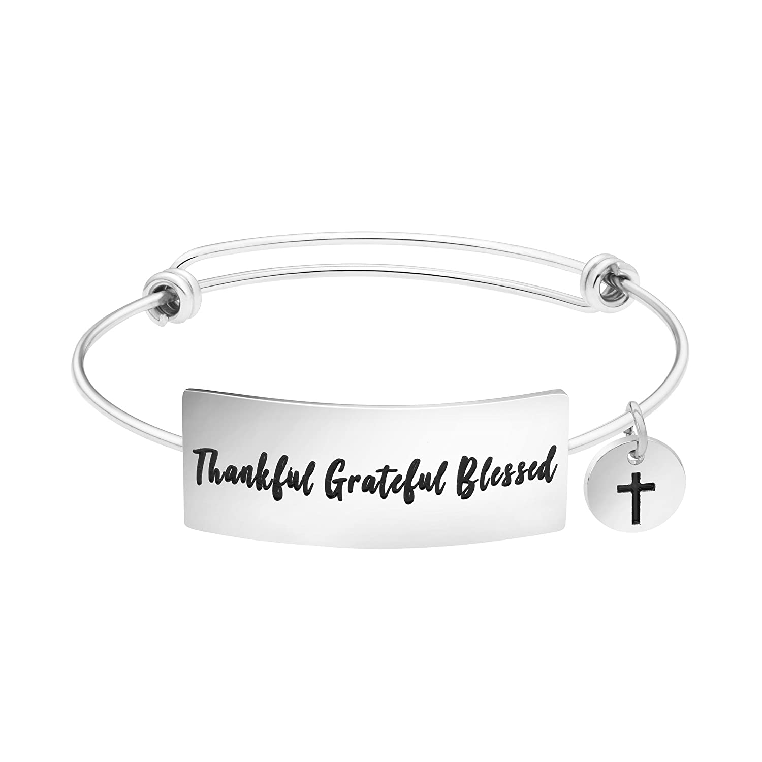 Yiyang Mantra Bracelet Inspirational Expressions Jewelry Unique Thanksgiving Day Gifts