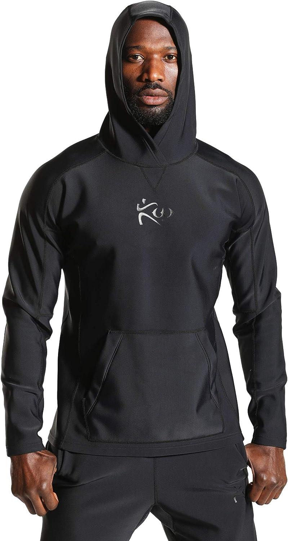 Kutting Weight Sauna Hoodie Body Toning Clothing Unisex Fat Burner Hooded Sweatshirt