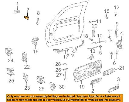 Awesome Amazon Com Genuine Gm 12549131 Door Lock Cylinder Front Automotive Wiring 101 Akebwellnesstrialsorg