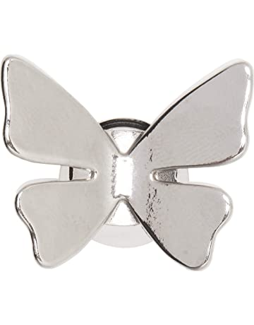 5f15a53b35 Crocs 3D Butterfly Silver Shoe Decoration Charms