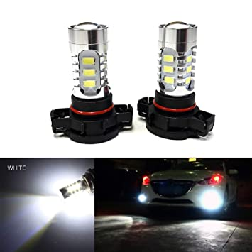 Amazon Com Socal Led 2x H16 5202 Led Fog Light Bulb 15w Smd 5730