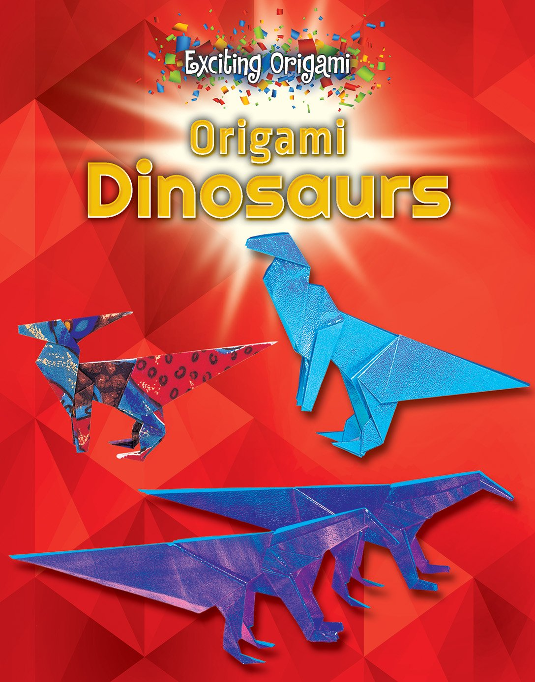 Origami Dinosaurs Exciting Walter Alexandr Schultz Dinosaur Diagrams 9780766086500 Books