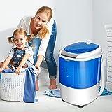 COSTWAY Mini Washing Machine with Spin