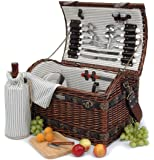 Willow & Seagrass Picnic Basket