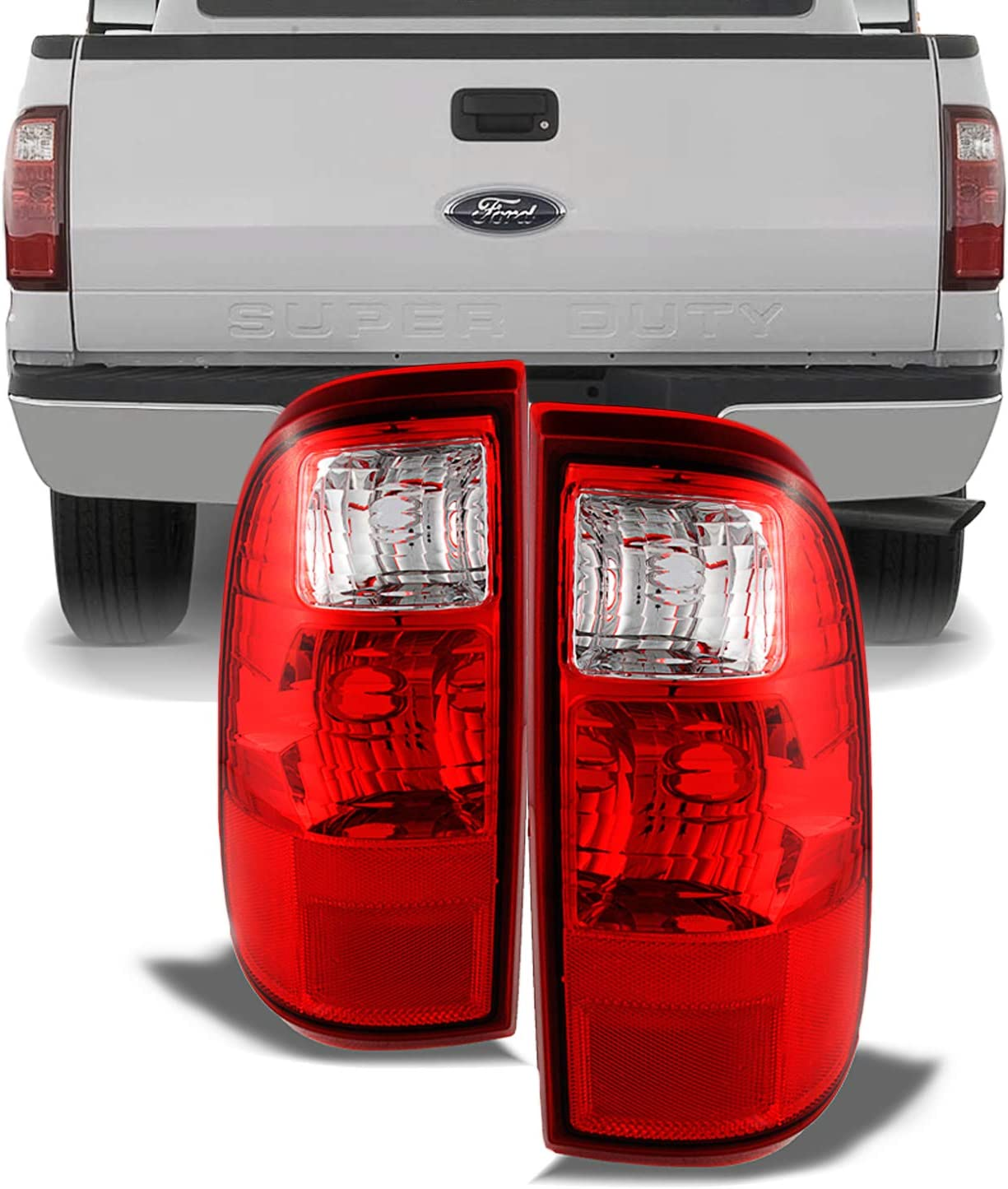 OEM FORD 2008-2016 F250 F350 SuperDuty Tail LEFT LH Brake Lamp BC3Z13405A