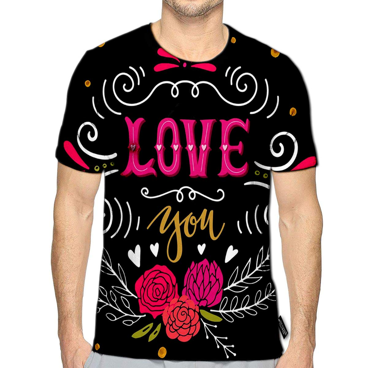 YILINGER 3D Printed T-Shirts Rooster Chinese New Year Symbol 2017 Short Sleeve Tops Tees