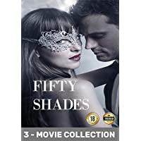 Fifty Shades Trilogy 3 Full Movie Collection DVD Set | Fifty Shades of Grey | Fifty Shades Darker | Fifty Shades Freed