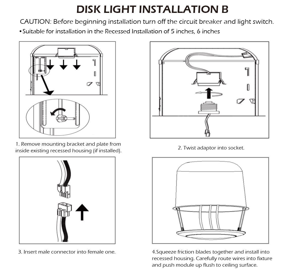 Wiring diagram for multiple downlights