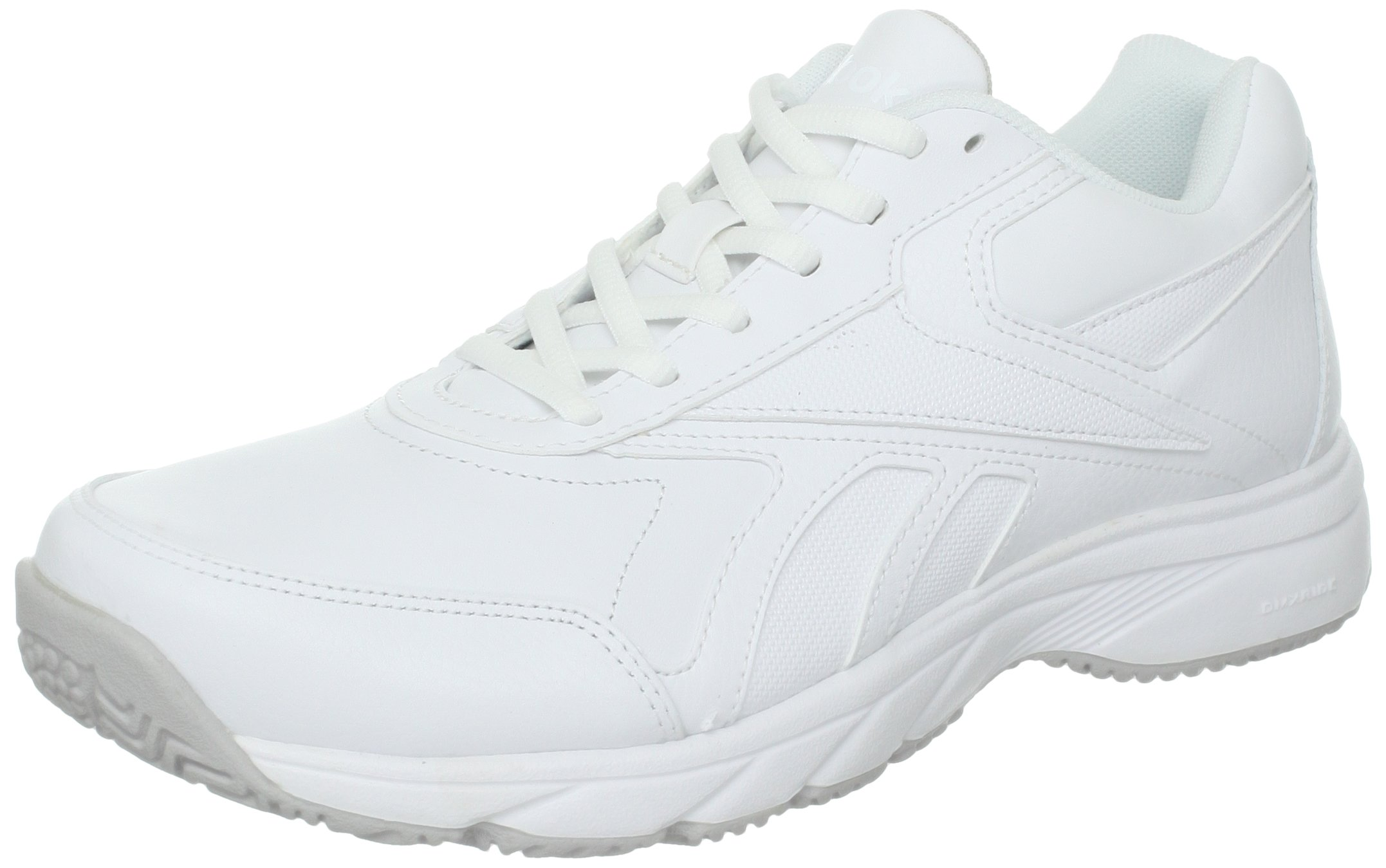 Reebok Women's Work N Cushion Walking Shoe,White,9 D US