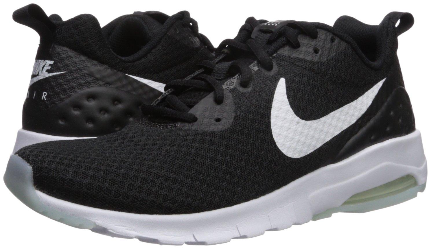 NIKE Women's Air Max Motion LW Running Shoes B0145Y5X6W 10.5 B(M) US|Black/White