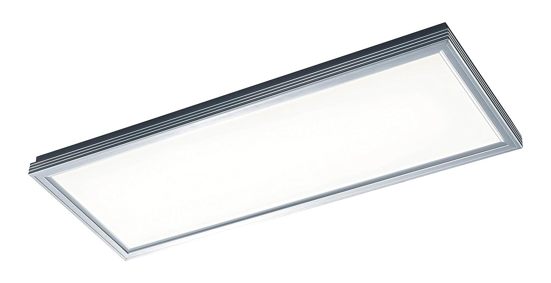 Trio Lucas Plafón LED, 30 W, Aluminio Pulido, 31x81,5cm: Amazon.es: Iluminación