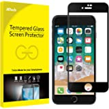 JETech Screen Protector for Apple iPhone 8 Plus and iPhone 7 Plus, 5.5-Inch, Full Coverage Tempered Glass Film (Black)