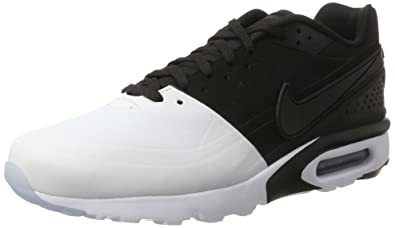 e09074ef99 Nike Men's AIR MAX BW Ultra SE White Black Running Shoes-10.5 UK/India