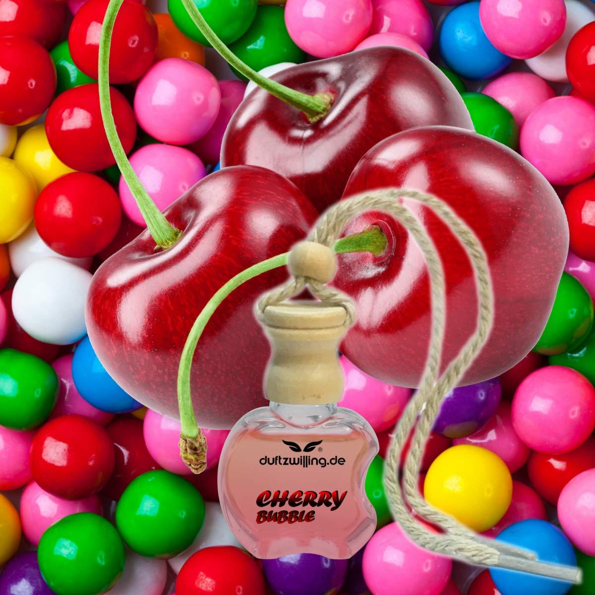 Mega Autoparfüm Kirsch Kaugummi Geruch Autoduft Parfum Natürlich Öl Essenz Duftanhänger Flasche Lufterfrischer Duft Fürs Auto Cherry Bubble Beauty