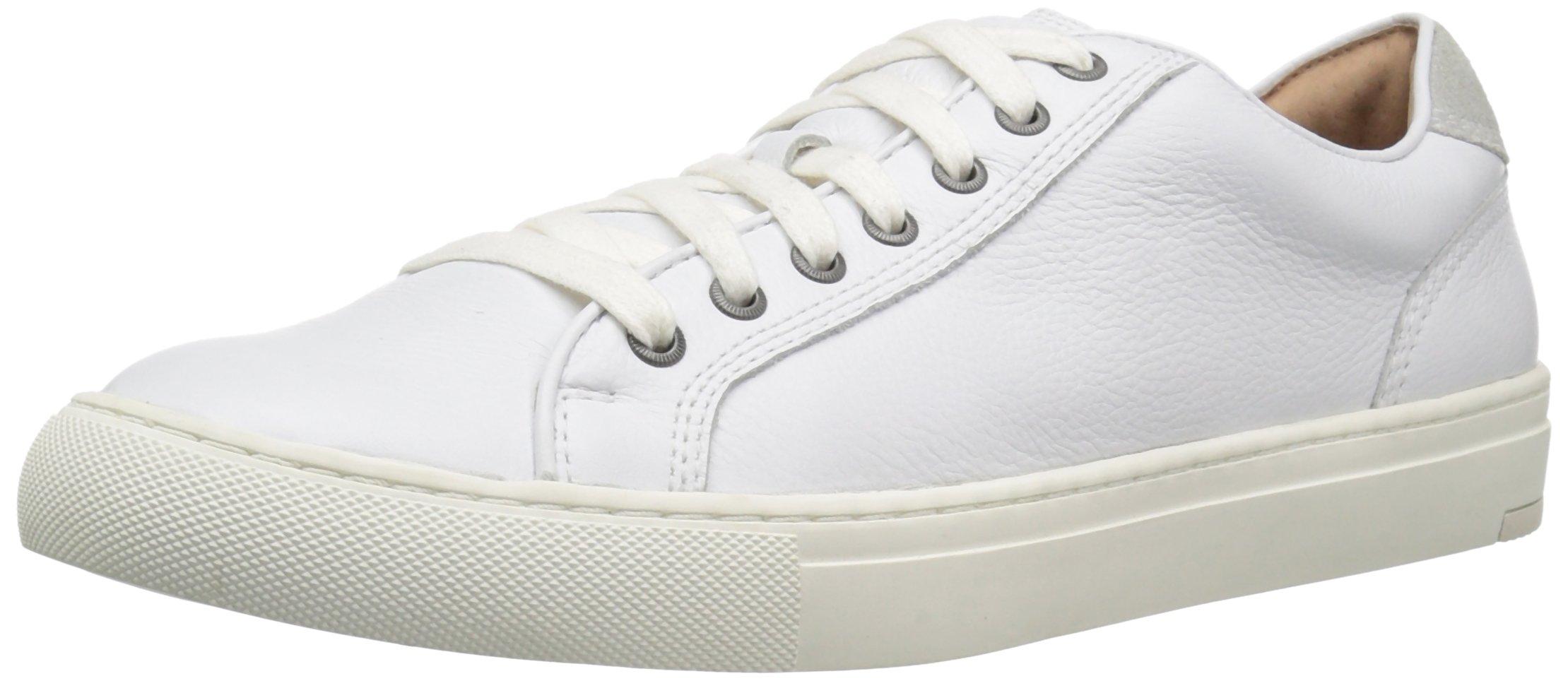 206 Collective Men's Prospect Lace-up Fashion Sneaker, White, 10.5 D US