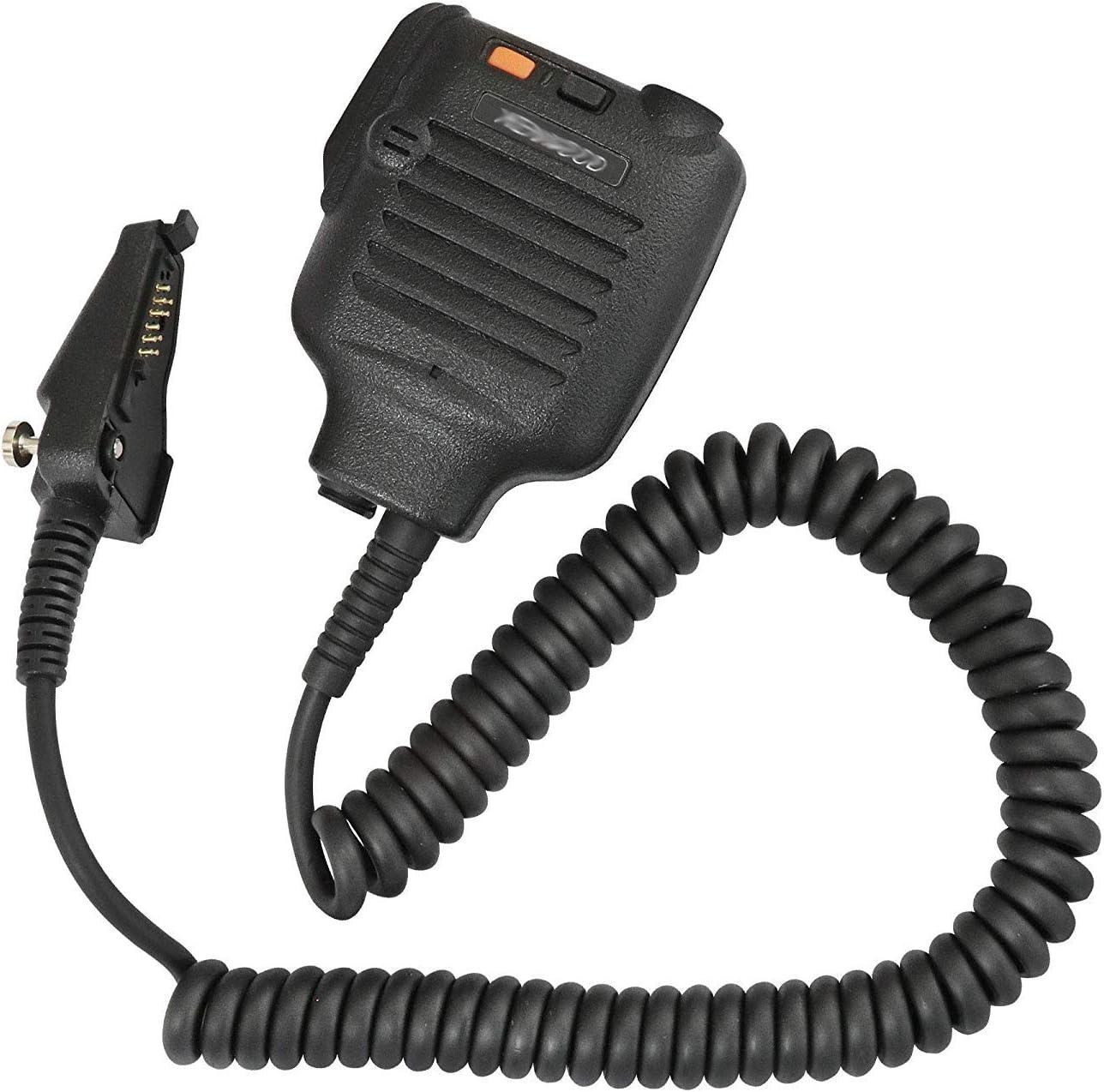 VBLL KMC-25 Speaker Mic Microphone for Kenwood NX-200 NX-210 NX-300 NX-3200 NX-3300 NX-410 NX-411 NX-5200 NX-5300 NX-5400 TK-2180 TK-3180 TK-5210 TK-5220 TK-5310 TK-5410 Portable Radio