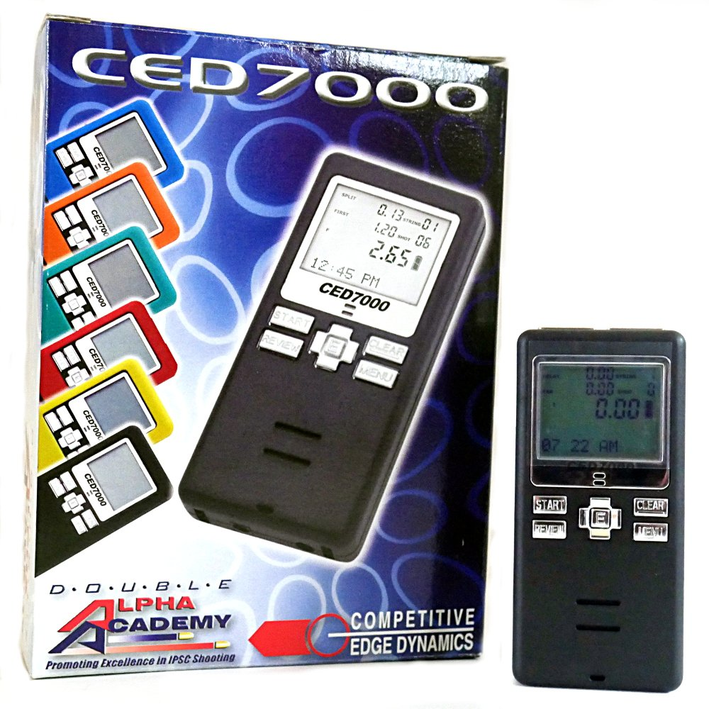 CED7000 Shot Timer - Perfect for Dry Fire Practice Shooting or RO use in USPSA, IPSC, 3 gun, and Steel Challenge. by CED (Image #1)